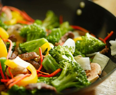 stir fry with vegetables