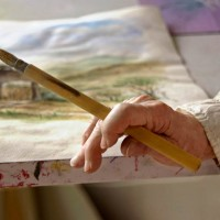 senior watercolor artist