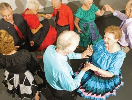 engaging Watermark University classes like square dancing