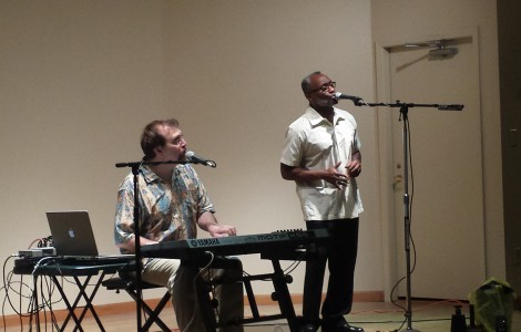 Doug and Tony Rock The Fountains with Magnificent Motown