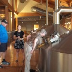 Learning the step-by-step brewing process.