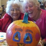 Pumpkin decorating in The Inn!