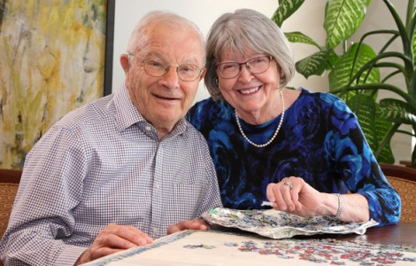 Residents Beverly and John Folz are Enjoying Worry-Free Living at The Fountains