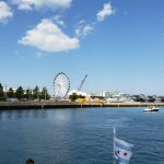 Navy Pier as viewed from the River.
