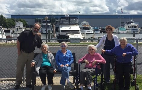 Gardens Residents Enjoy a Scenic Ride Along the Coast of Lake Michigan