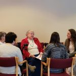 Another group of students and residents getting to know one another.