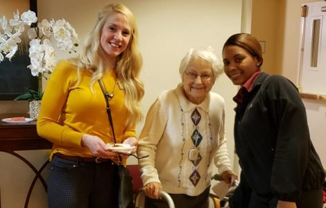 Residents & Associates Enjoy a Community-Wide Holiday Celebration Together