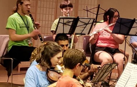 Talented Young Musicians Delight Residents in a Special Concert